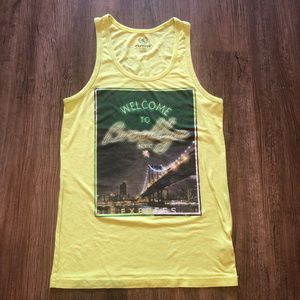 """4 for $15~ Express """"Welcome to Brooklyn"""" tank top"""